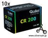 ローライ Chrome CR 200 135 10本パック Rollei Chrome CR 200 135 10 Pack